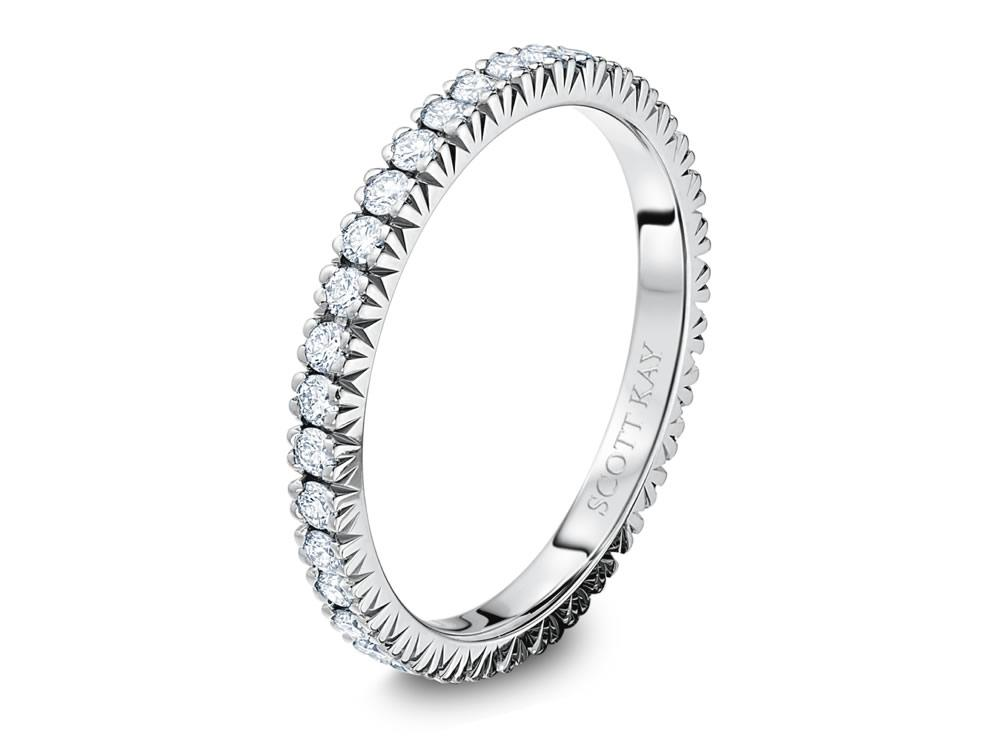 Scott Kay Eternity Diamond Ring 001 742 00453