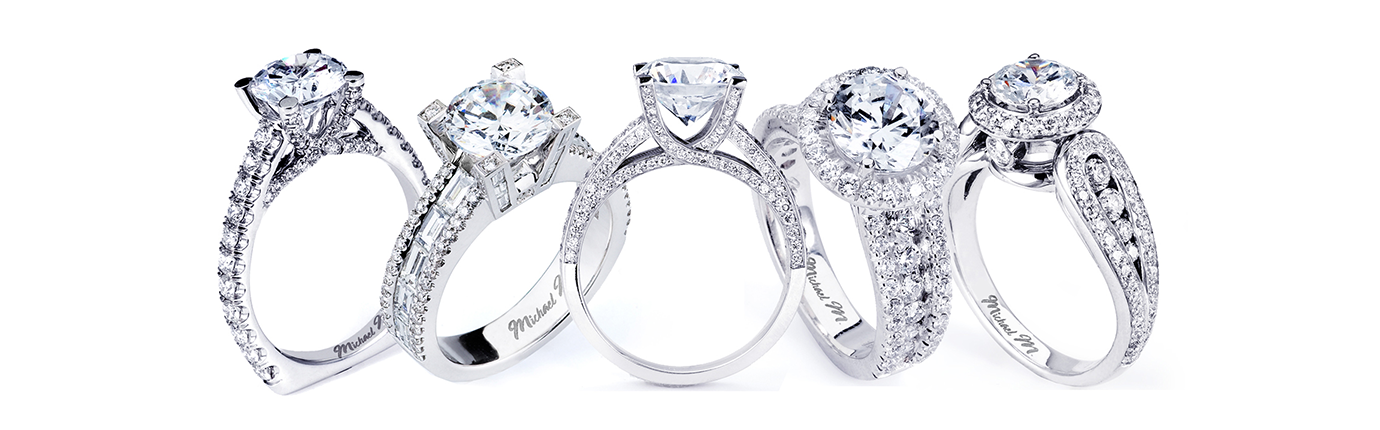 Michael m collection engagement rings and wedding bands for Michael m collection
