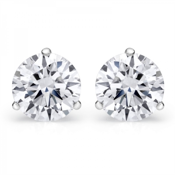 2.53 Cttw. 14KW Diamond Earrings by Padis Signature Collection