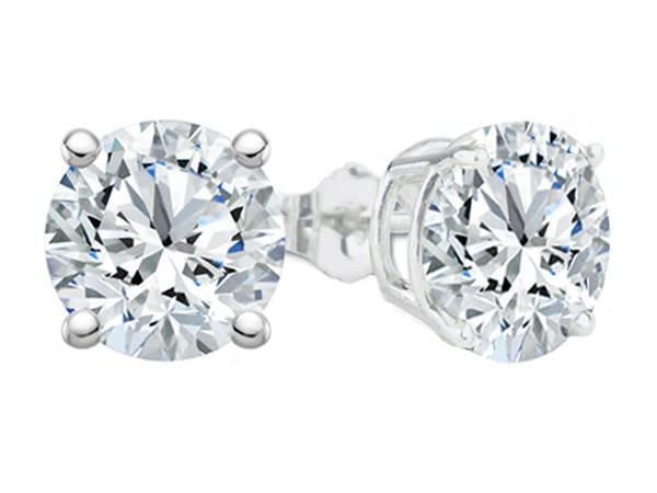 1.79 Cttw. 14KW Diamond Earrings by Padis Signature Collection