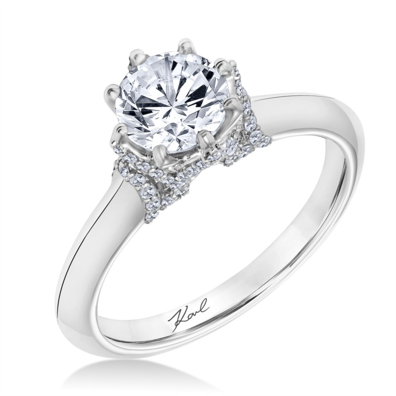 Karl Lagerfeld Engagement Ring by Karl Lagerfeld