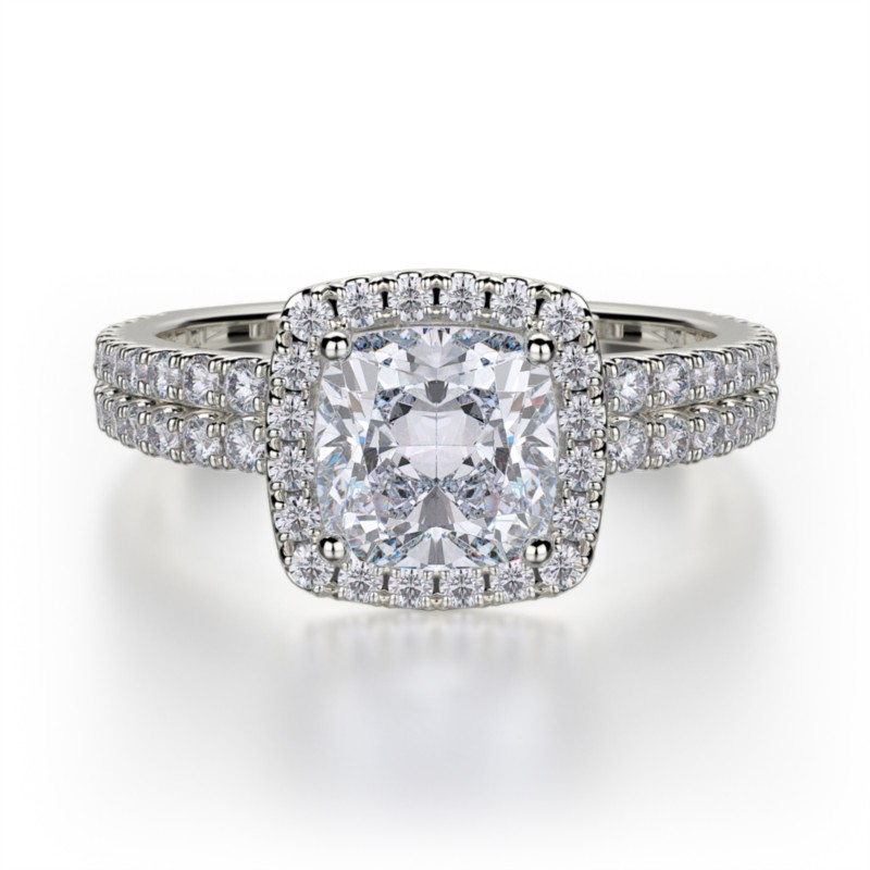 Michael M. Halo Diamond Ring by Michael M.
