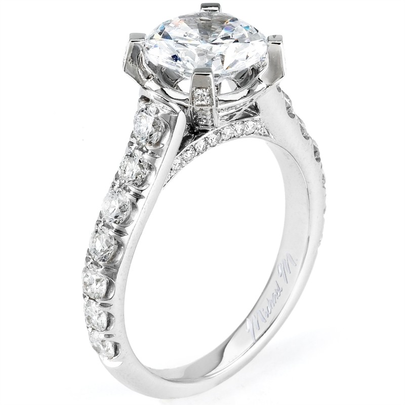 Michael M. Tapered Diamond Ring by Michael M.