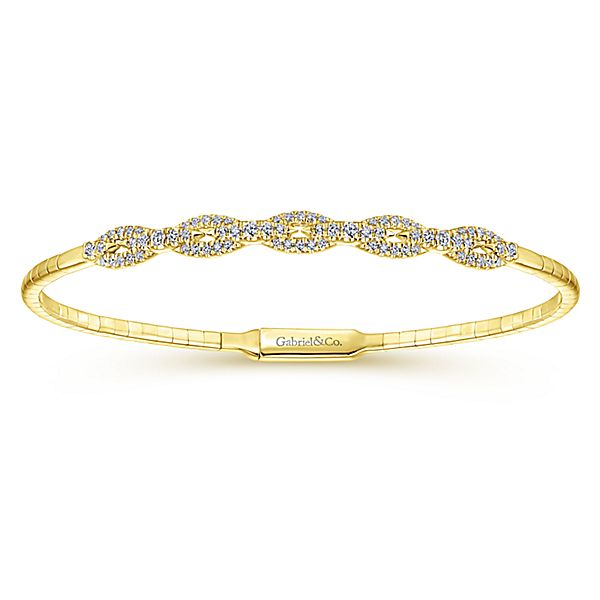 Gabriel & Co. Diamond Bracelet by Gabriel & Co