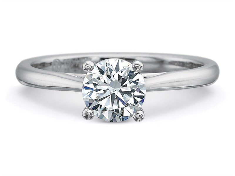 Precision Set Engagement Ring by Precision Set