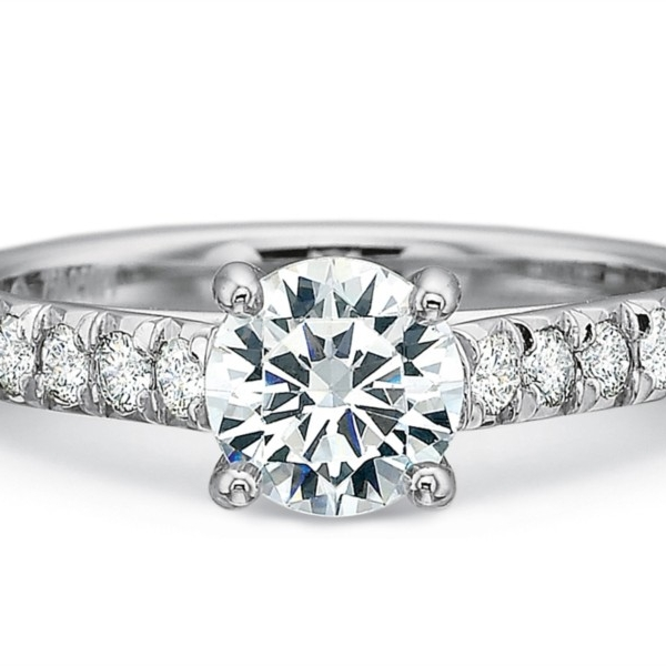 Precision Set New Aire Engagement Ring by Precision Set