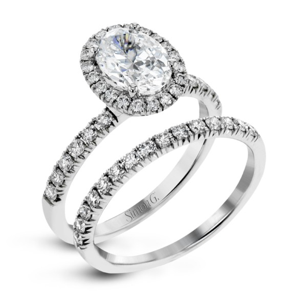 Simon G. Engagement and Wedding Ring Set by Simon G