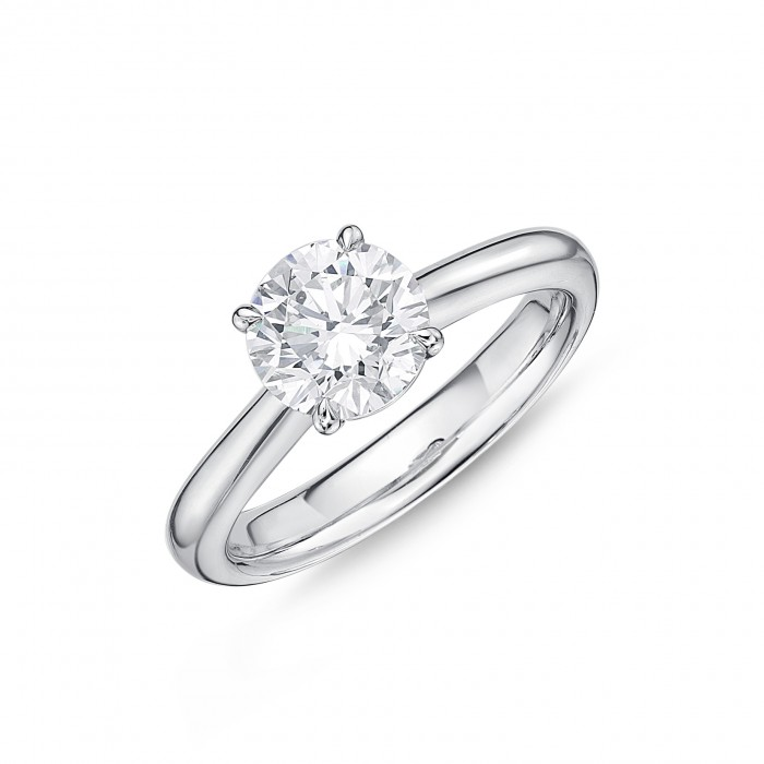 Memoire Solitaire Diamond Ring by Memoire