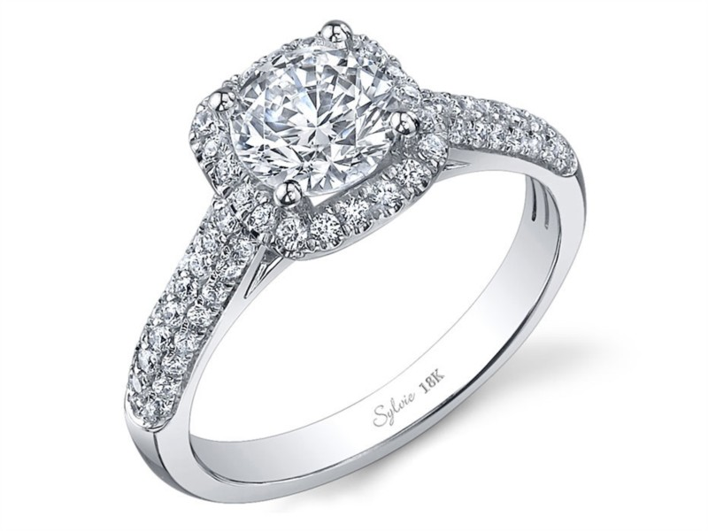 Sylvie Romance Diamond Ring by Sylvie