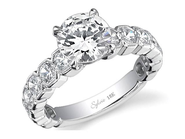 Sylvie Passion Diamond Ring by Sylvie