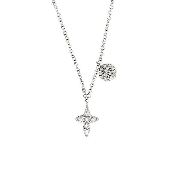 Meira T. Diamond Cross Necklace by Meira T.