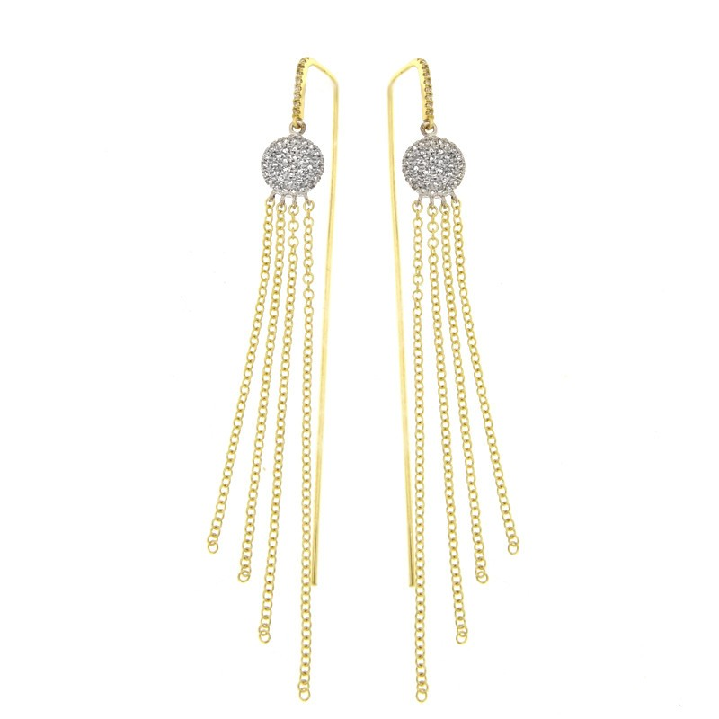 Meira T. Diamond Earrings by Meira T.
