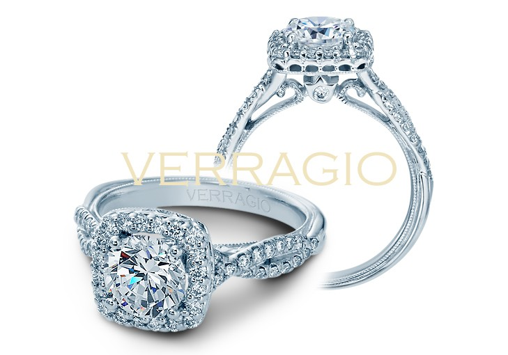 Verragio Classic Halo Ring by Verragio