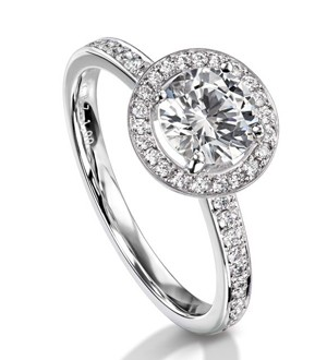 Furrer Jacot Halo Diamond Setting by Furrer Jacot