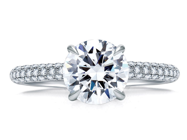 A. JAFFE Engagement Ring by A.JAFFE