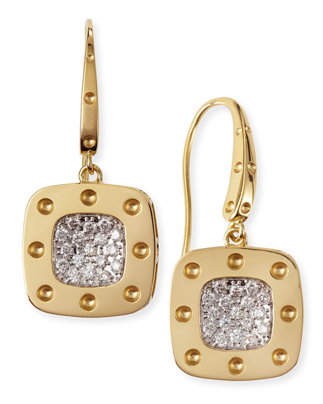 Roberto Coin Diamond Earrings by Roberto Coin