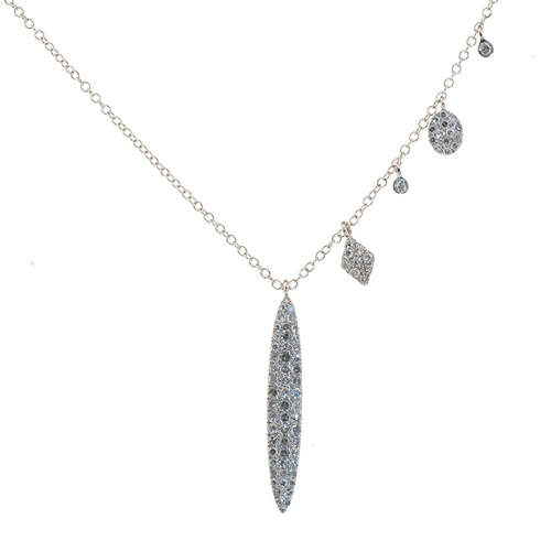 Meira T. Diamond Charm Necklace by Meira T.