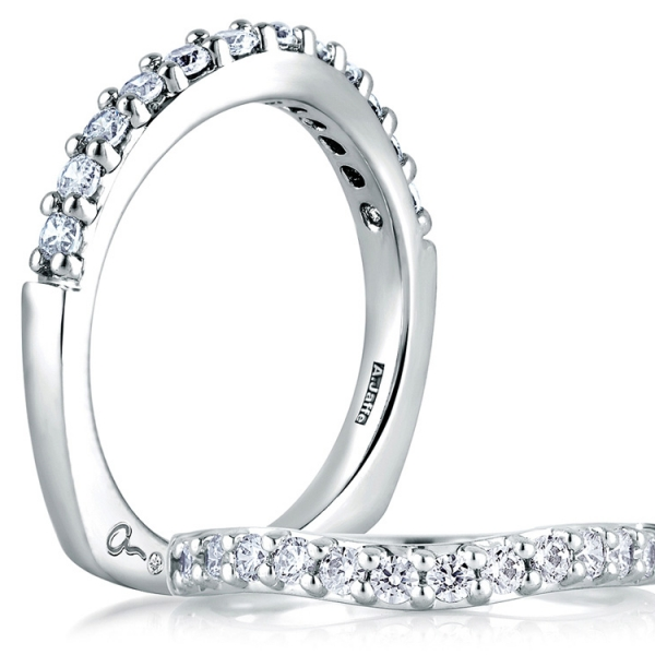 A. JAFFE Contoured Diamond Ring by A.JAFFE